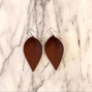 Colorado Leaf Earrings - Buttery Soft
